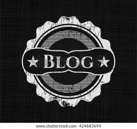 Blog on blackboard