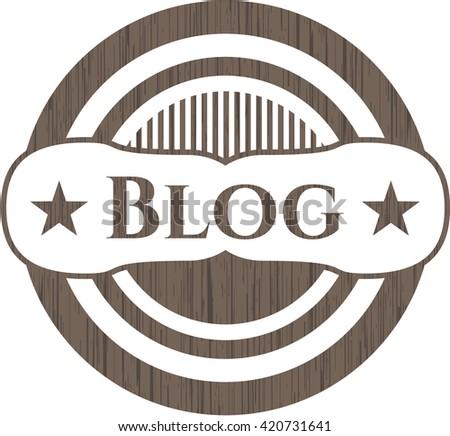 Blog wooden emblem