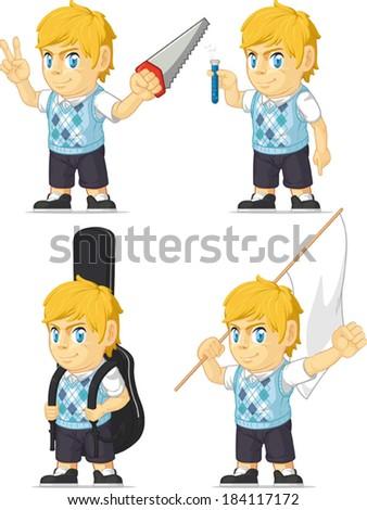 blonde rich boy customizable