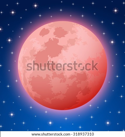 blood moon rare total lunar