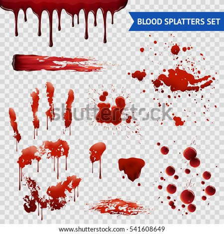blood spatters realistic
