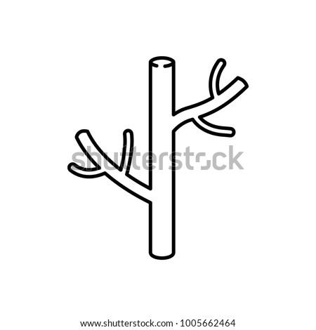 blood vessel icon, vector illustration
