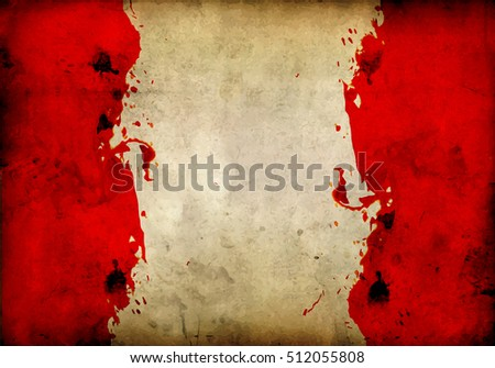 bloodied parchment background