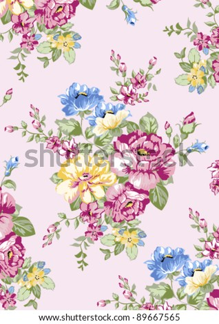 blooming rose - stock vector