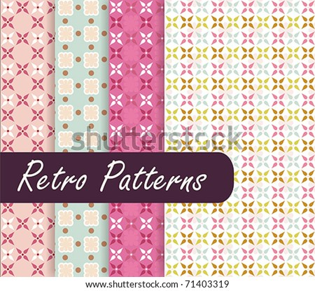 Blossom Retro Patterns