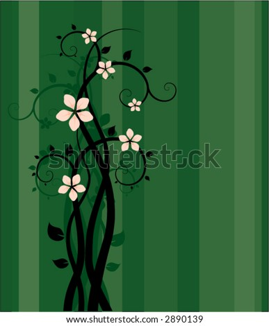 Blossom Sprigs Background