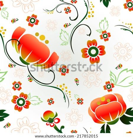 Blossom Vintage Pattern #217852015