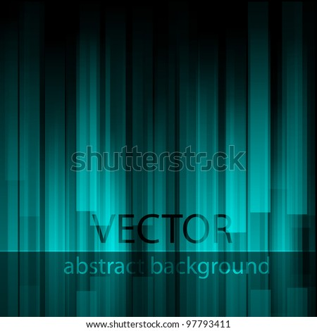 Blue abstract background.Vector eps 10