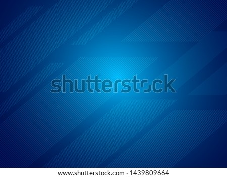 blue abstract geometric background. Light blue vector cover with stright stripes, Modern shape concept, abstract modern background