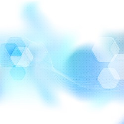 Blue abstract mobile wavy layout. Vector illustration