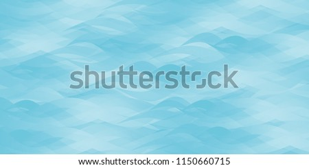 blue abstract ocean seascape