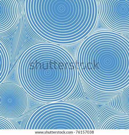 Blue abstract seamless circle and triangle. Line pattern background ...