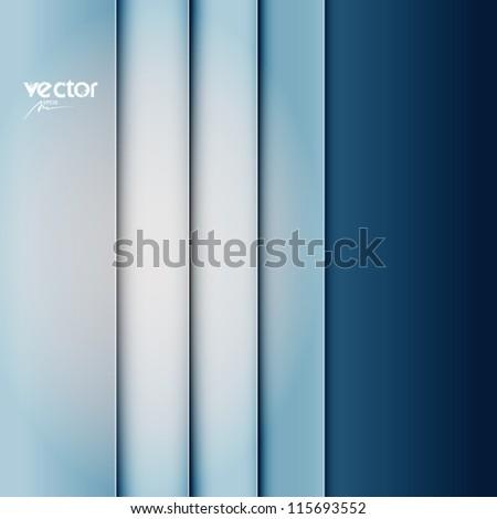 blue abstract vector background, web design element, vintage art banner, geometric illustration