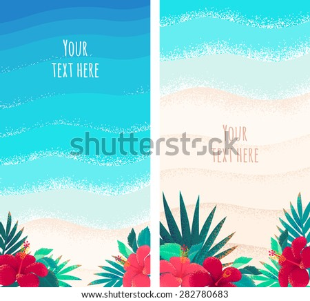 blue and  bright turquoise sea