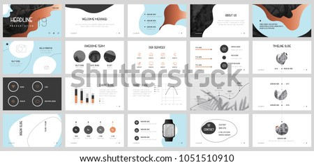 Blue and Bronz elements for infographics on a white background. Presentation templates. Use in presentation, flyer and leaflet, corporate report, marketing, advertising, annual report, banner.