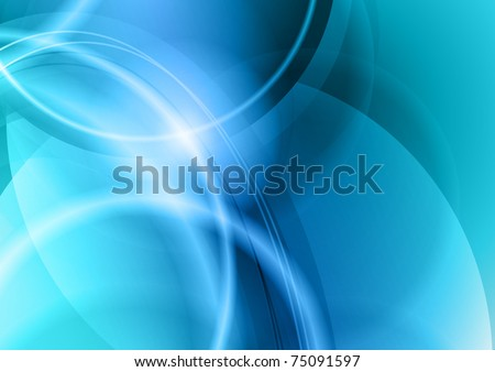 blue and cold abstract background
