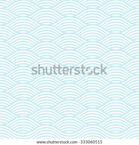 blue and white seamless wave