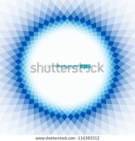Blue and White Shape Design | EPS10 Vector Background