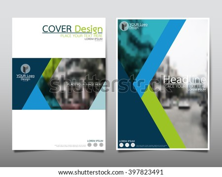 Shutterstock Blue annual report brochure flyer design template vector, Leaflet cover presentation abstract flat background, layout in A4 size