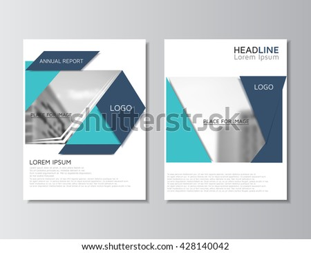 Modern Blue Business Flyer Brochure Template Download Free - Template for a brochure