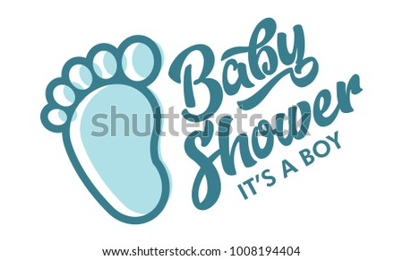 Baby Shower Sign Vector Download Free Vector Art Stock Graphics