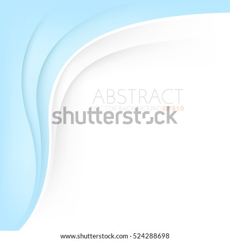 blue background curve and line