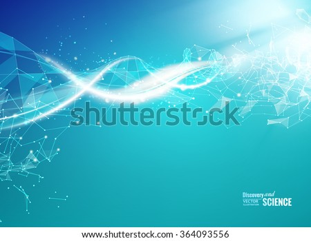 blue background with dna