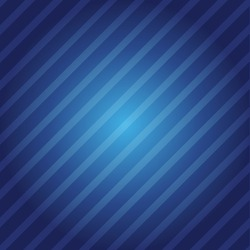Blue background with geometric diagonal lines. Vector EPS 10 illustration.