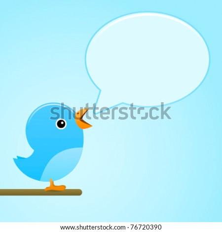 blue bird message