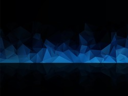 blue black abstract background