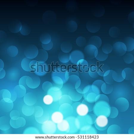 blue bokeh background  vector