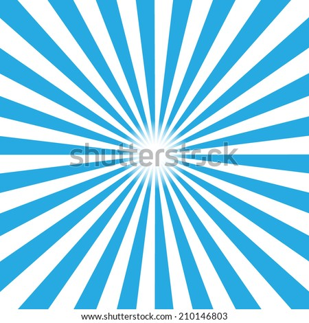blue burst background vector