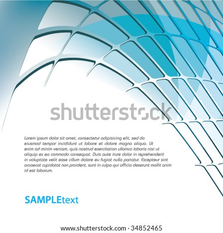 Blue business background design series