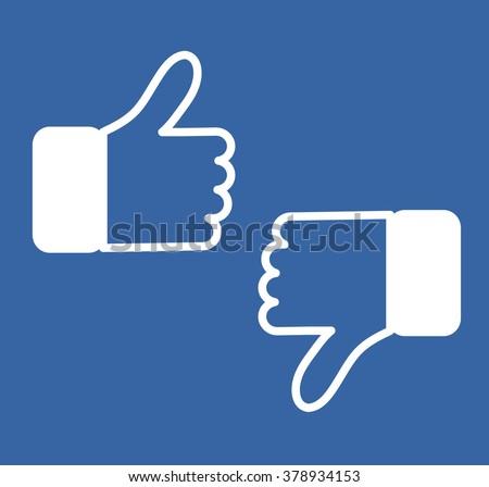 Blue Button Hand