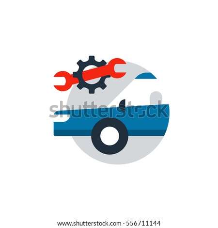 Vector Images Illustrations And Cliparts Blue Car In A Circle With