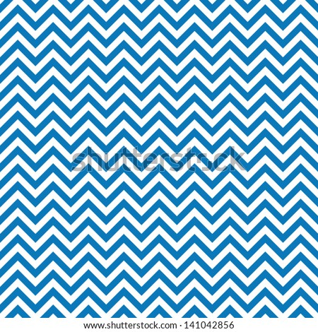 Blue chevrons seamless pattern background retro vintage design