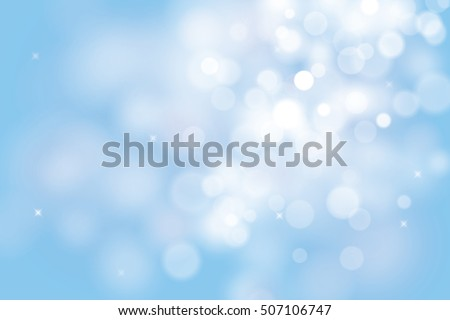 blue christmas background with