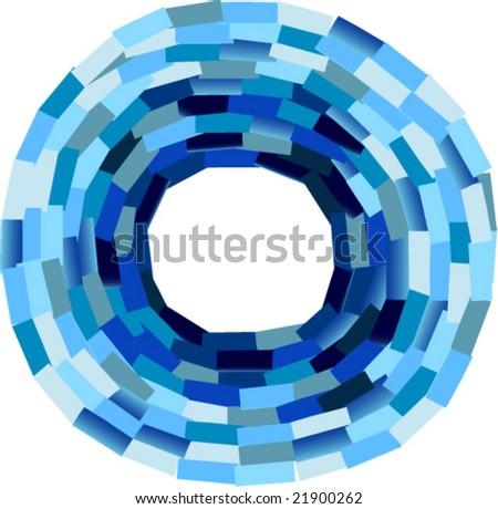 Frame Collage Vector Blue Collage Frame