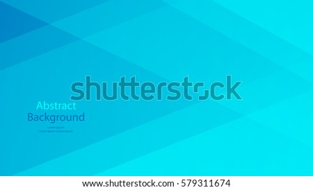 Blue color background abstract art vector