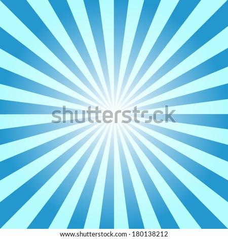 blue color burst background