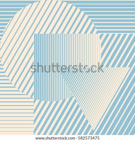 blue color minimalistic design