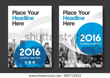 Colorful Annual Report Download Free Vector Art Stock Graphics - Annual report design templates 2016