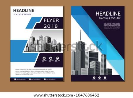 colorful header design for flyer book info banner - Settlement Brochure Template
