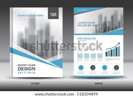 blue cover annual report