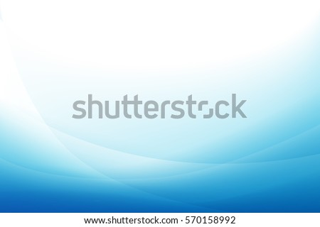 Blue curve abstract background vector illustration