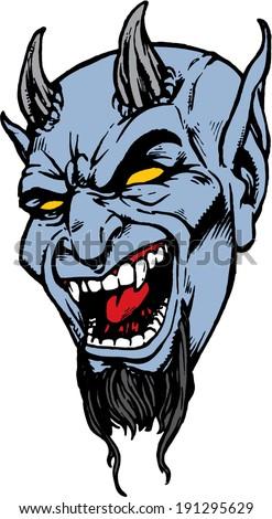 blue devil head