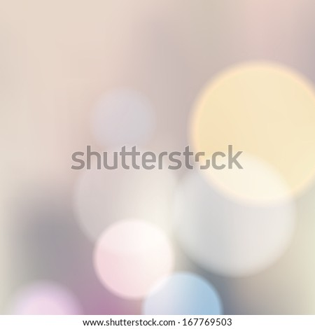 Blue elegant abstract background with bokeh lights.