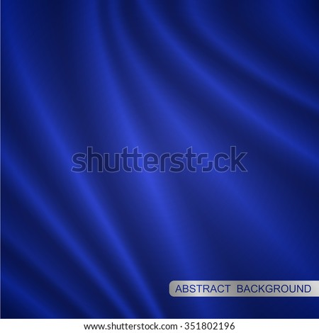 blue fabric smooth background
