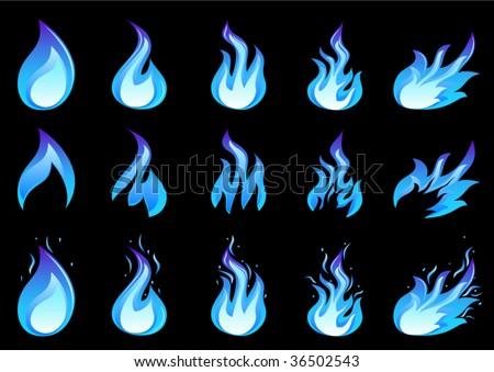 blue fire setBlue Fire A