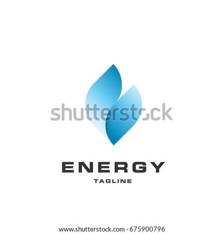 blue flame energy icontype